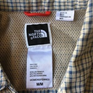 The North Face Tops - Women's M The North Face Plaid Long Sleeve